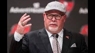 Tampa Bay Buccaneers introduce coach Bruce Arians