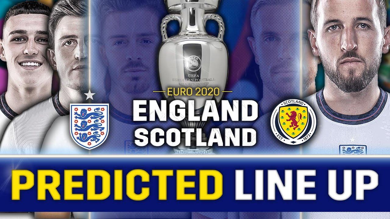 GREALISH TO START? England Vs Scotland [PREDICTED LINE-UP]