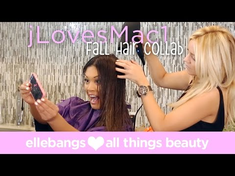 Fall Hair Color: JLovesMac1 Collaboration Video thumbnail