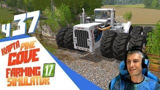 Разломал трактором забор! - Farming Simulator 17