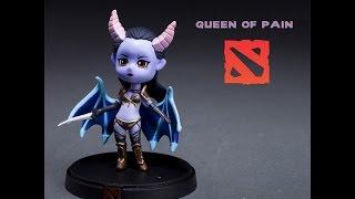 Обзор фигурки героя Queen of Pain из Dota 2