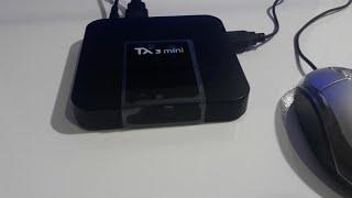 TV BOX TX 3 MINI CONFIGURAÇÃO E APRESENTAÇÃO