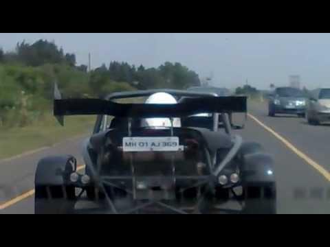 live shoot sports cars on chennai roads