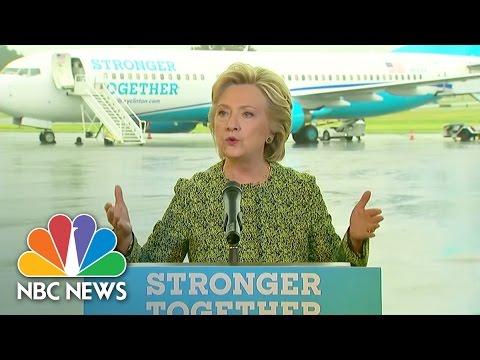 Hillary Clinton: Donald Trump's Rhetoric Being Used For Terror Recruitment | NBC News