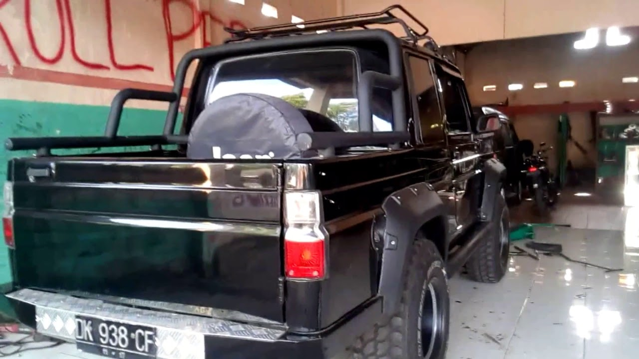 Review Jimny Long Modif Double Cabin Th 1990 YouTube
