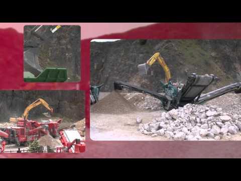 Hillhead 2016 - Rock processing Demo Area