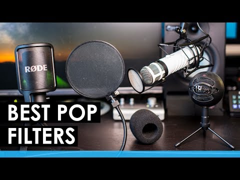 Best Pop Filters Reviewed — Pop Filter VS. Windscreen