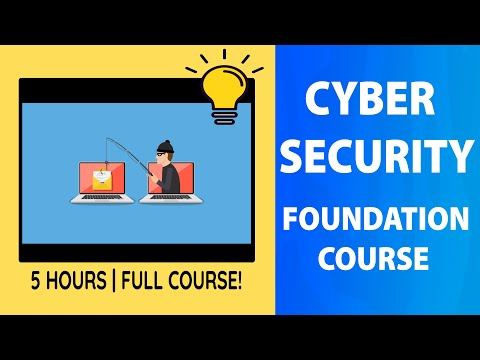 Network and Cyber Security | Full course