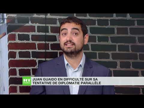 Venezuela : Juan Guaido échoue à mettre en place une diplomatie parallèle