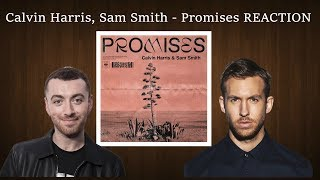 first reaction to calvin harris sam smith promises review rating