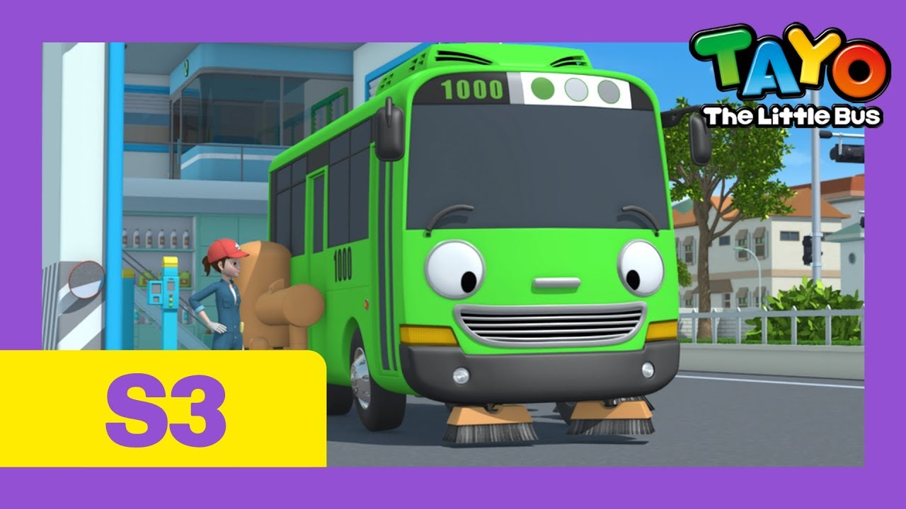Download Tayo Rogi the sweeper l Tayo S3 EP3 l Tayo the Little Bus