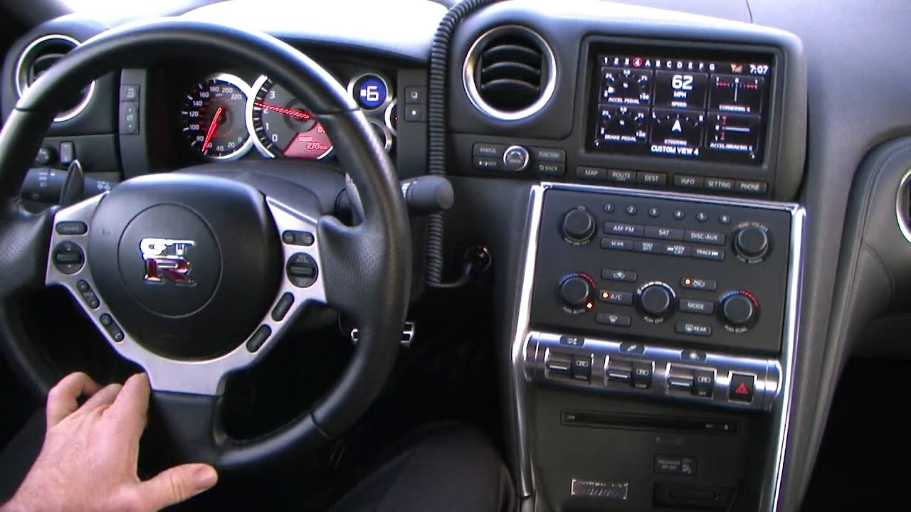 2010 Nissan GT R 0 60 Time with Traction Control on