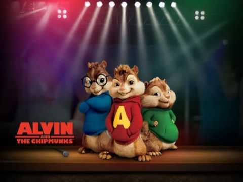Alvin i Wiewiorki w piosence Danzel