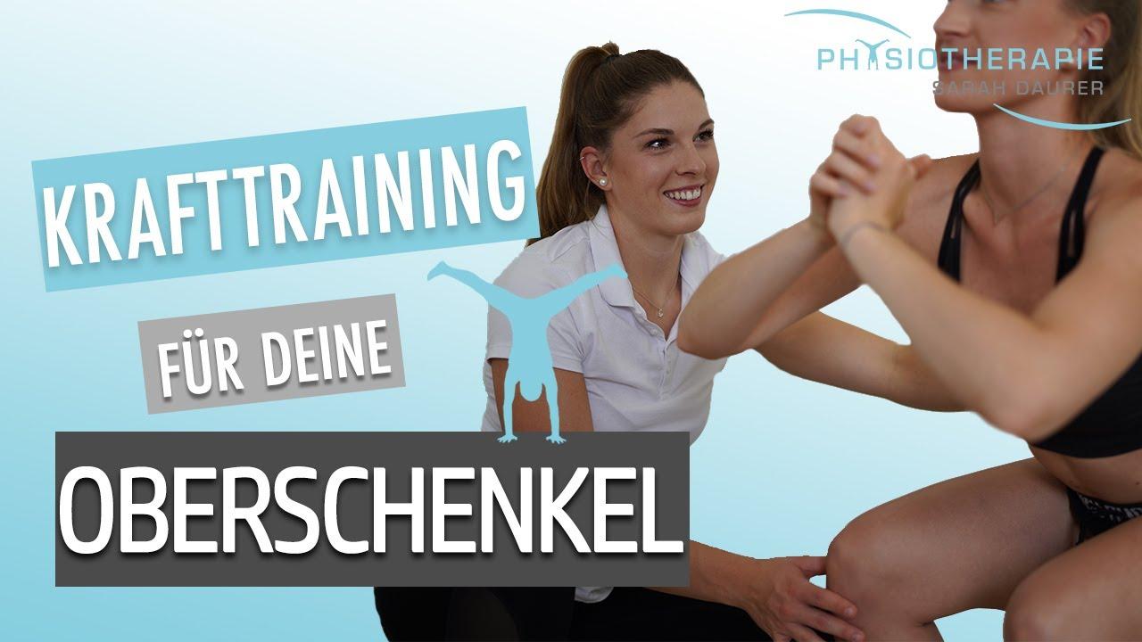 10 Minuten Krafttraining Beine - Sarah Daurer