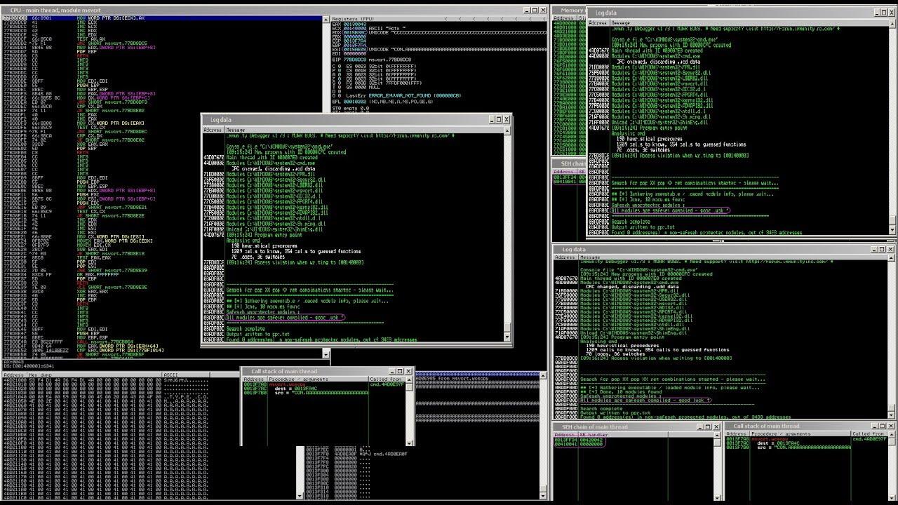 les commandes CMD Windows