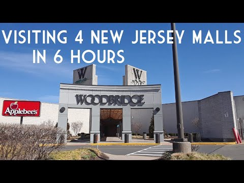 Visiting 4 NJ Malls in 1 Day - Woodbridge, Menlo Park, Bridgewater, Phillipsburg