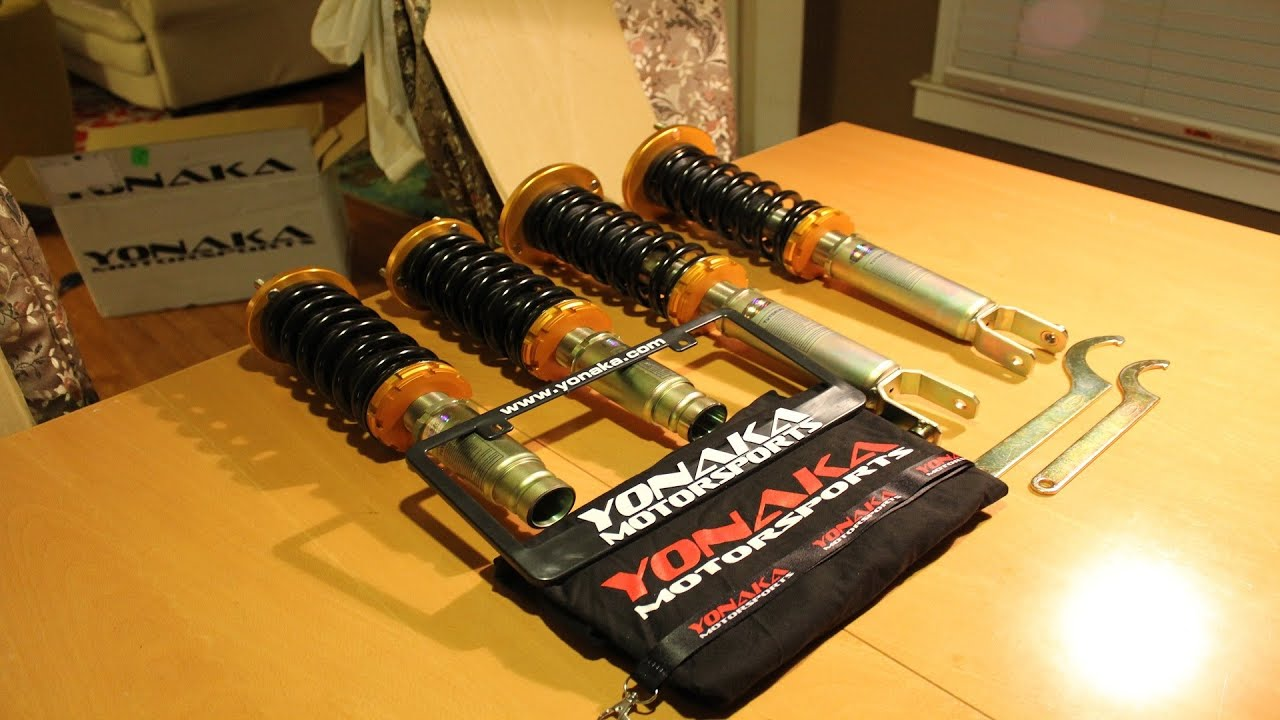 Yonaka 1995-1997 Honda Accord Coilover Unboxing
