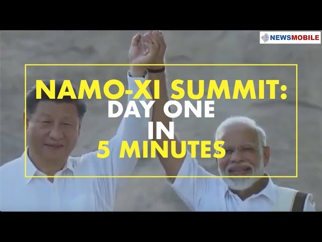 NaMo-Xi Summit: Day One in 5 minutes