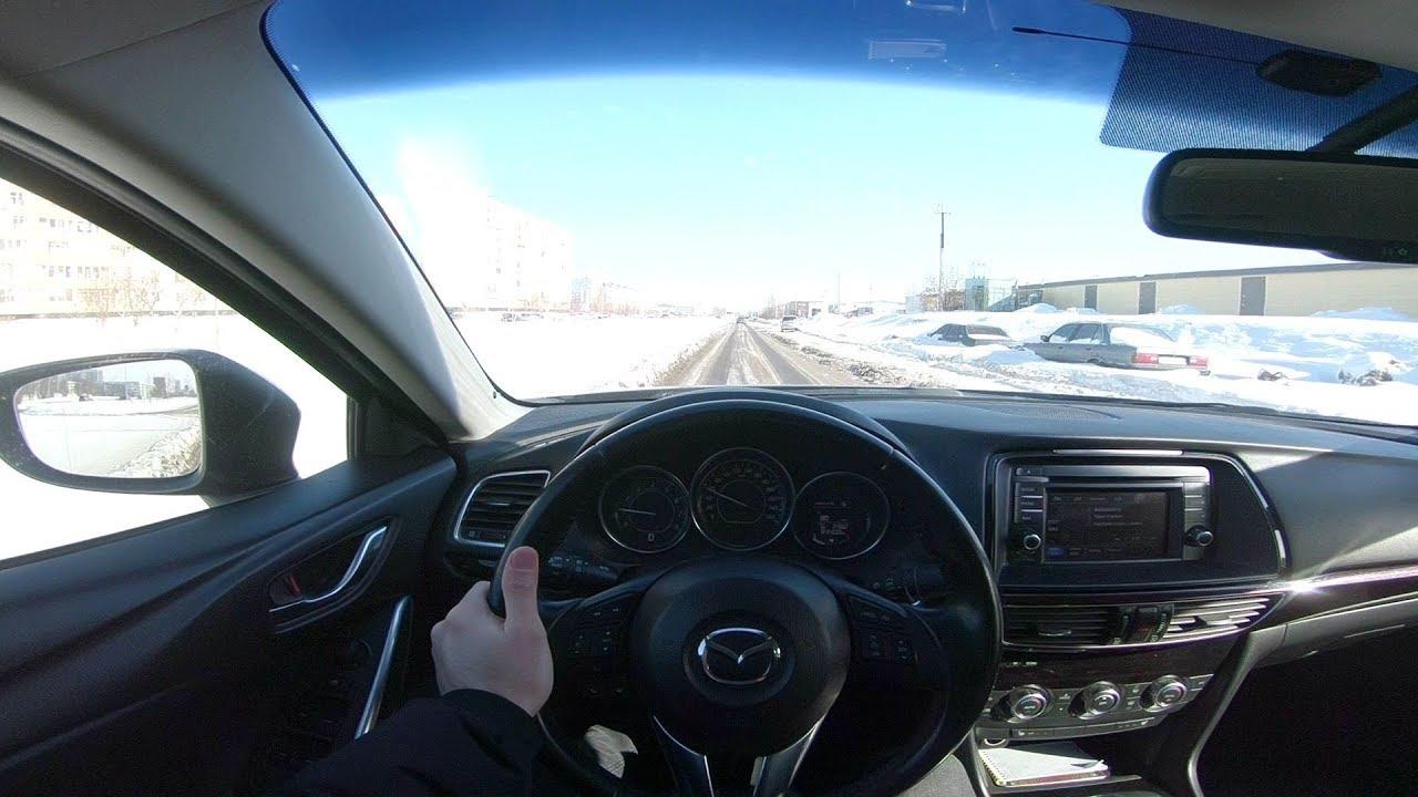 2013 Mazda 6 POV Test Drive
