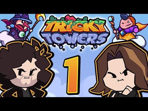 Tricky Towers: Like Tetris, But Not - PART 1 - Game Grumps VS