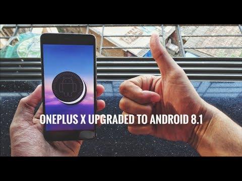 Oreo 8.1 on the OnePlus X!!🔥
