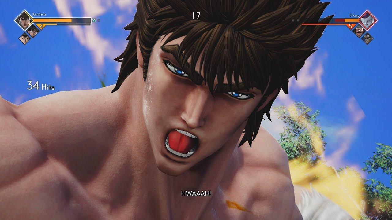 Jump Force - Kenshiro Vs Battles Gameplay (Complete Moveset) (1440p 60fps)