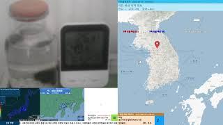 [지진관측 진도0] 국내 강원 속초시 동남동쪽 10km…