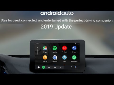 how-to-turn-on-and-use-the-2019-brand-new-android-auto-ui-redesign-update-for-your-car,-review