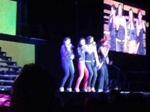 B*witched Rollercoaster LG Arena Birmingham Big Reunion Tour Live
