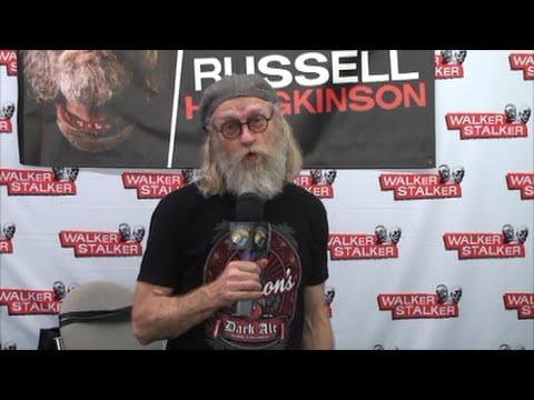 Z Nation's Russell Hodgkinson  at Walker Stalker Con