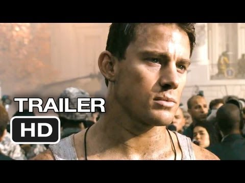 White House Down Official Trailer #1 (2013) - Jamie Foxx, Channing Tatum Movie HD poster