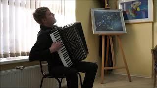 "D. Saussard""Le valseur fou""-Shamatura Pavel (accordion)/ ""Безумный вальс""-Шаматура Павел (аккордеон)"