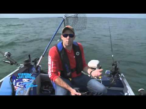 Fishing Lake Simcoe - Episode 3 Tips On Downrigging