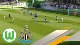 VFL Wolfsburg vs Newcastle United full match
