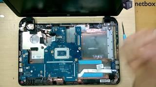HP 250 G3 Disassembly - Upgrade RAM & Hard Drive - Change WIFI Adaptor - Remove DC Jack