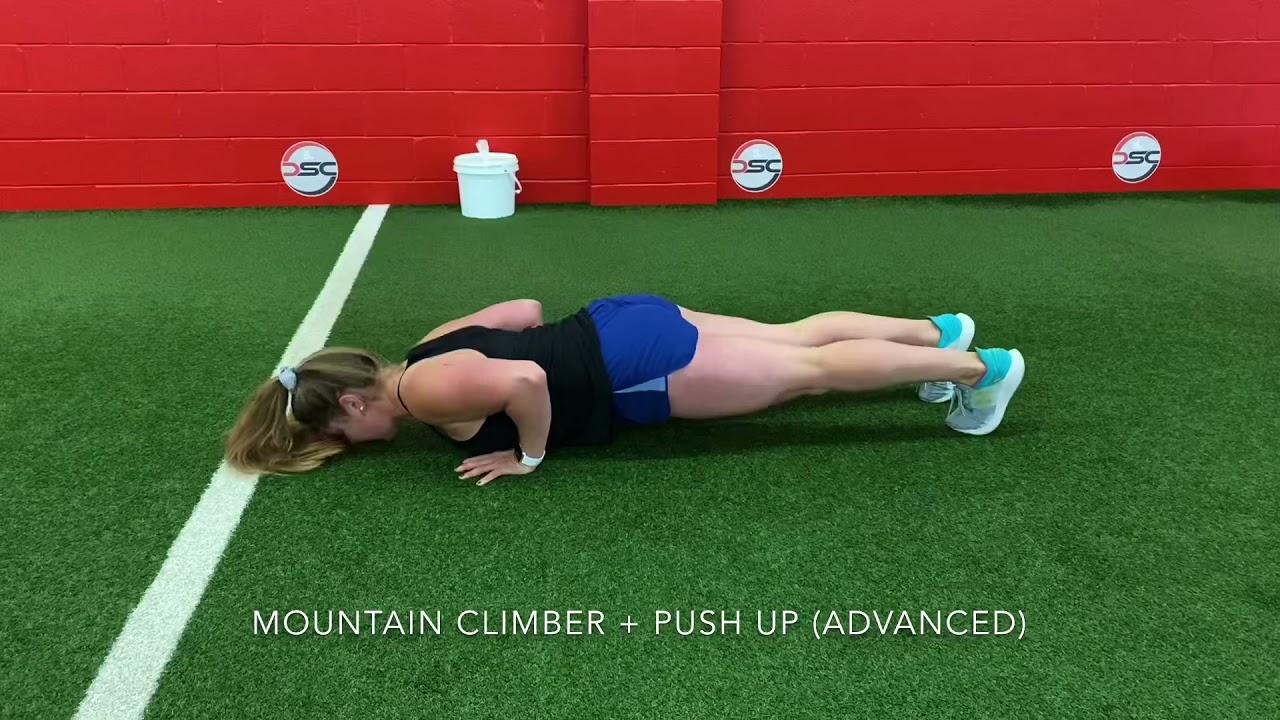 Mountain Climber + Push Up
