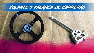 VOLANTE Y PALANCA DE CARRERAS AL VOCHO!!! | JUCA