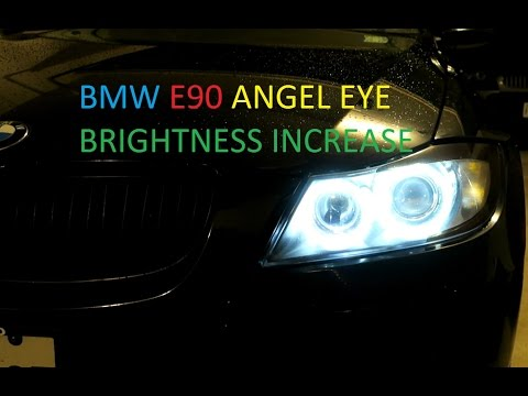 BMW E90 Angel Eye Voltage/Brightness Increase Via Coding In NCS Expert DIY