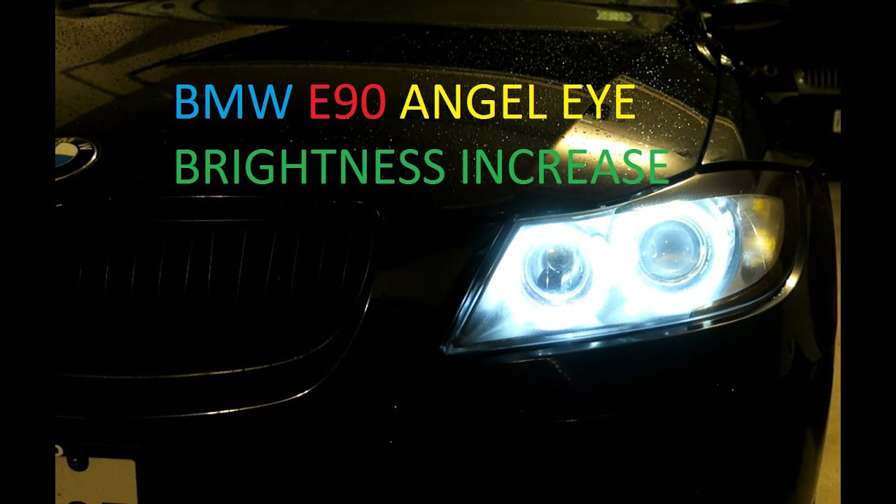 BMW E90 Angel Eye Voltage/Brightness Increase Via Coding In NCS Expert DIY