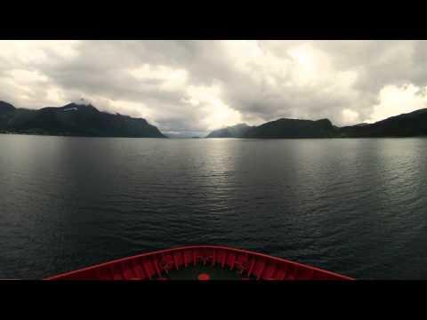 M/V Viking Prince Timelaps Sandessjøen til Stavanger