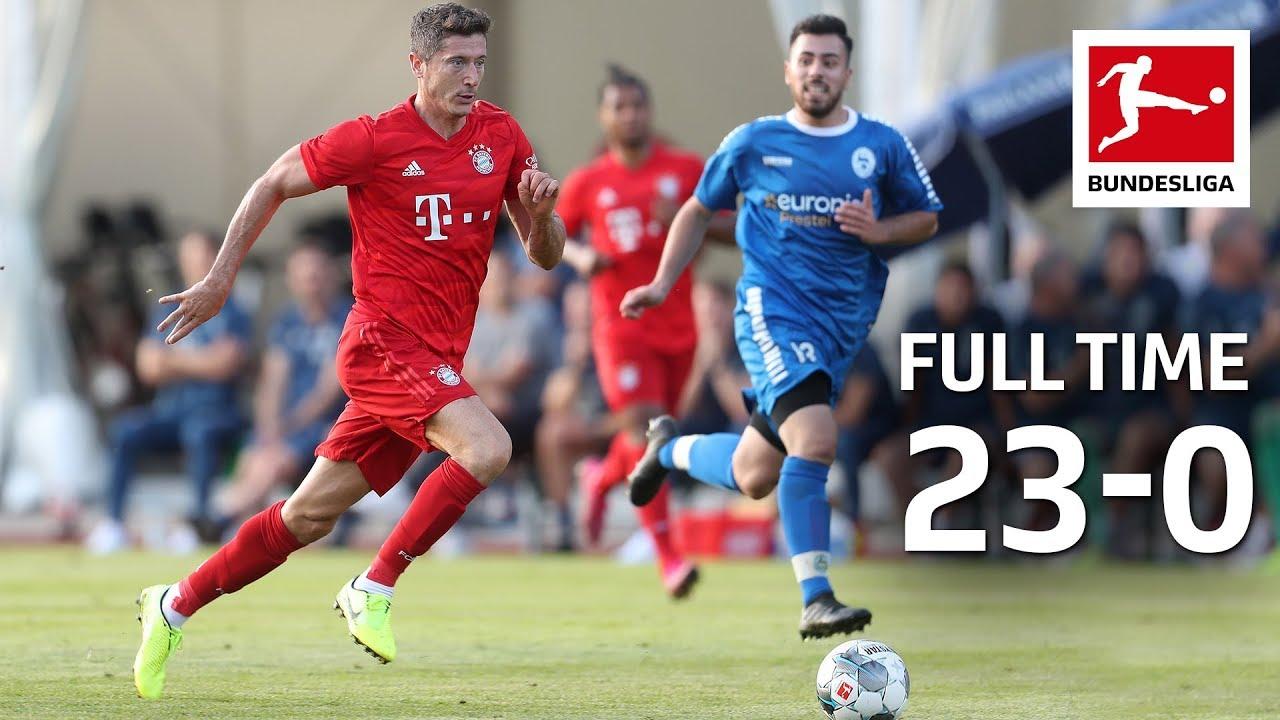 FC Bayern München Goalfest | 23-0 vs. Rottach-Egern