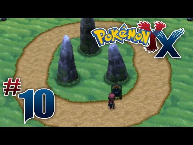 Lets Play Pokemon: X - Part 10 - Geosenge Town