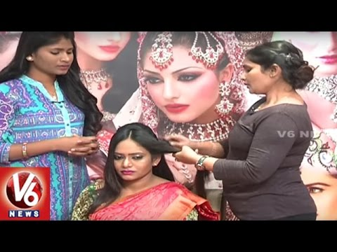 Beauty Tips For Brides Hair Style || City Life || V6 News