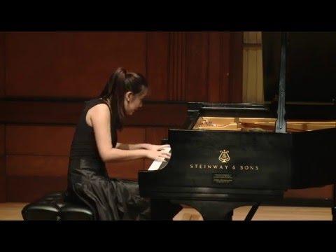 J.S. Bach Partita no. 1 in B-flat Major, BWV 825 - Chelsea Wang, piano