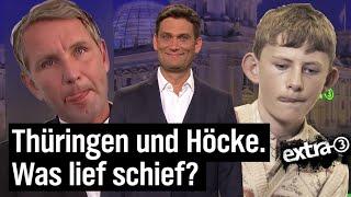 Thüringen-Wahl: Alles muss, nichts kann