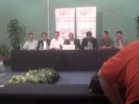 Press Conference - Giannis Dimaras - Thessaloniki 16/9/2011