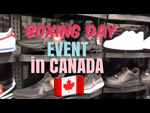 BOXING DAY MADNESS IN CANADA
