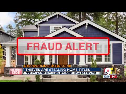 Thieves Are Stealing Home Titles