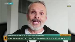 Inés Capdevila: Venezuela Live Aid, todos los preparativos | +INFO por LN+
