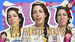 Learn the Top 15 Favorite Hebrew Words